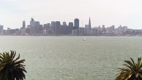 Aerial shot of San Francisco Royalty-free stock video