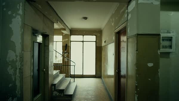 Floor Entrance Of An Old Ghetto