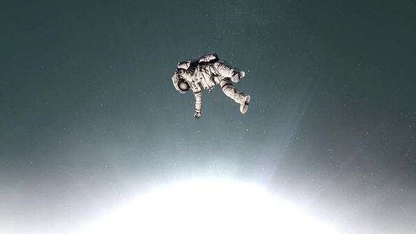 astronaut floating in space image - photo #40
