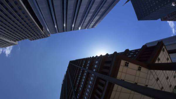 Tall buildings in downtown Pittsburgh, PA. Royalty-free stock video