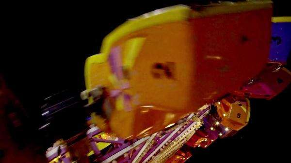 An extreme ride at a Mexican funfair Royalty-free stock video