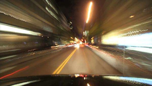 Night Driving, New York City Royalty-free stock video