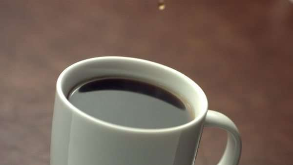 Drip of coffee, slow motion Royalty-free stock video