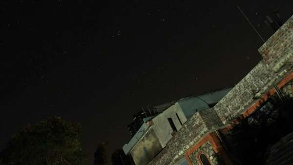 Stars at night over Pokhara Royalty-free stock video