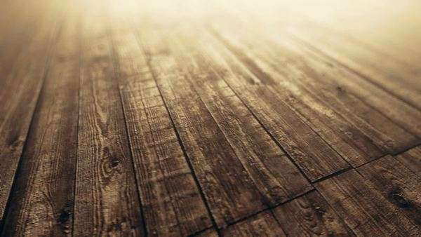 Loopable background animation of wooden planks Royalty-free stock video