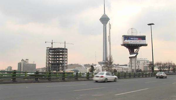 Milad Tower in Tehran, Iran. Royalty-free stock video