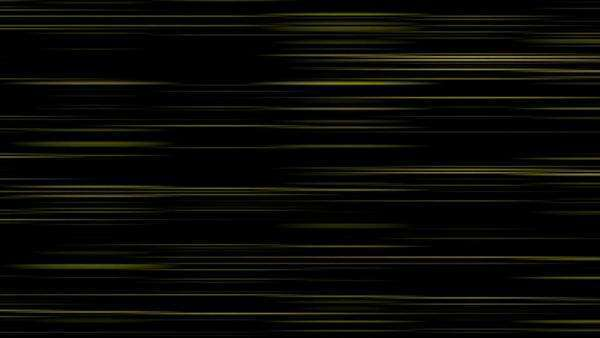 Looping animation of black and yellow horizontal lines oscillating. Royalty-free stock video