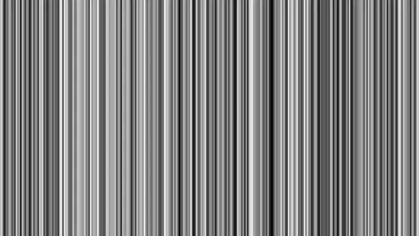 Looping animation of black, gray, and white vertical lines oscillating. Royalty-free stock video