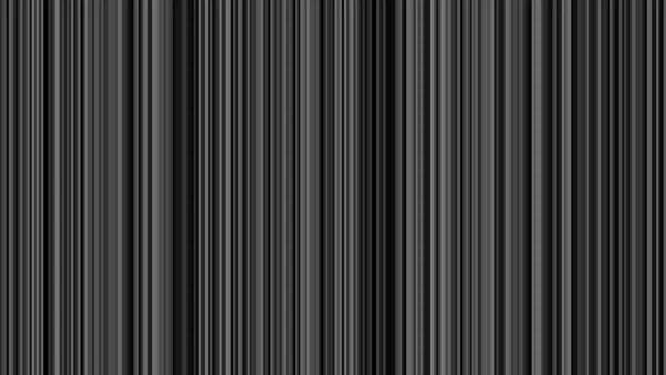 Looping animation of black, gray and white vertical lines oscillating. Royalty-free stock video