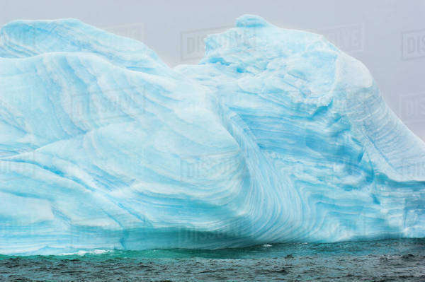 Iceberg, Orkney Islands, Antarctica Rights-managed stock photo
