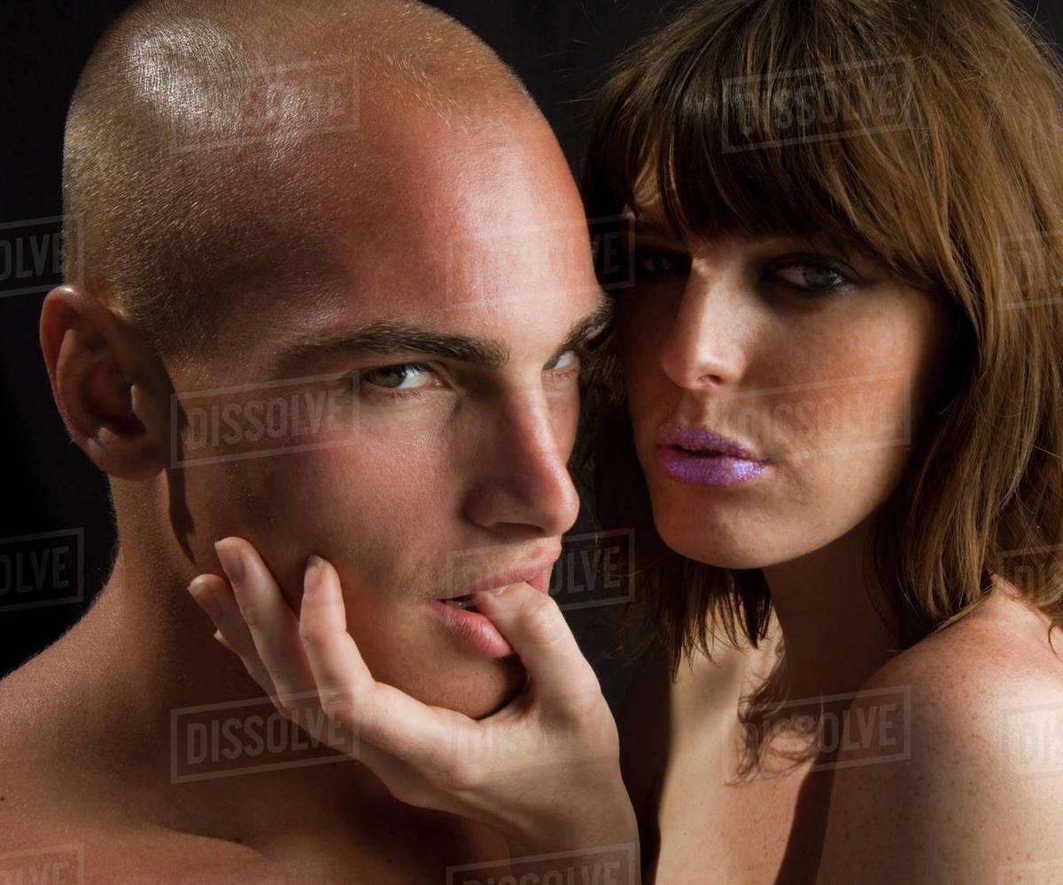 Nude couple thumbs