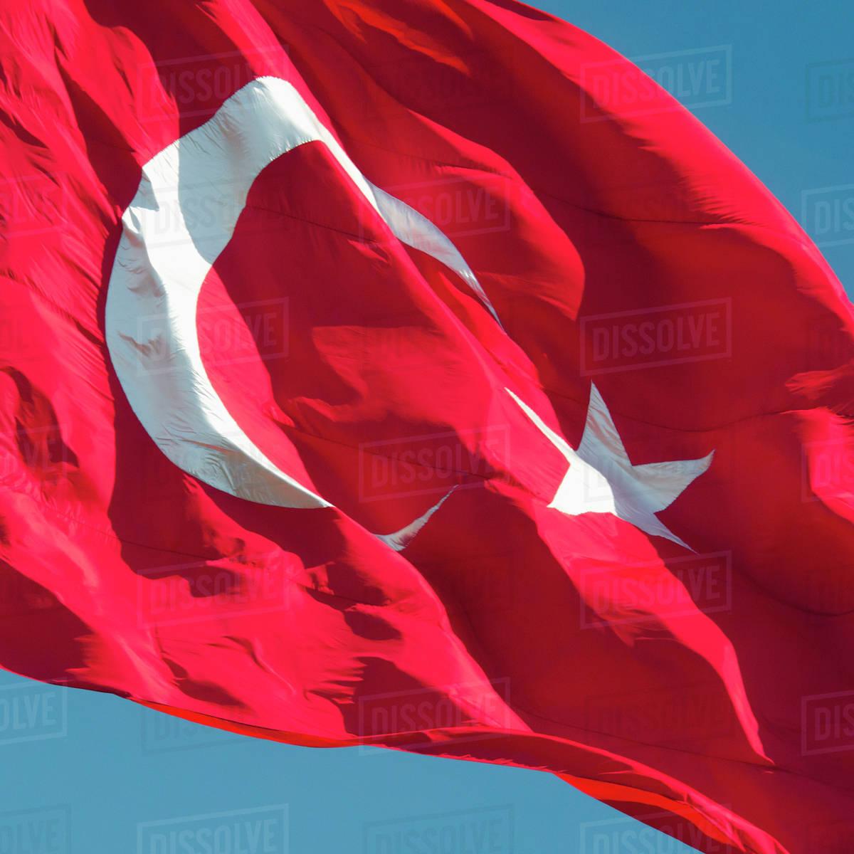 turkey istanbul turkish flag stock photo dissolve