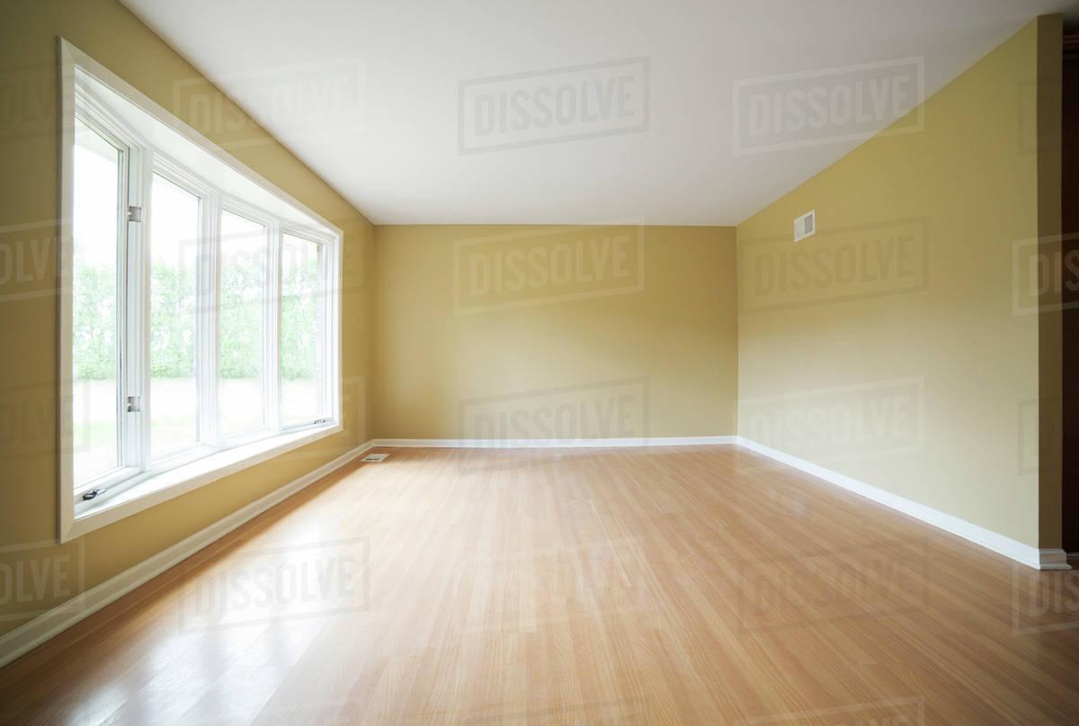 Empty room interior Royalty-free stock photo