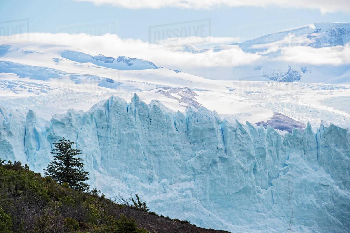 Perito Moreno Glacier, Los Glaciares National Park, Argentina Royalty-free stock photo