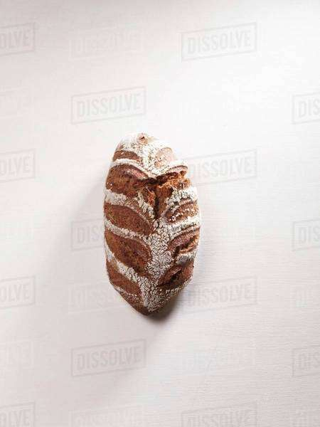 A loaf of brown bread Royalty-free stock photo