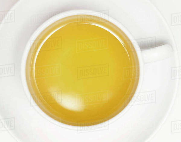 A cup of chamomile tea Royalty-free stock photo