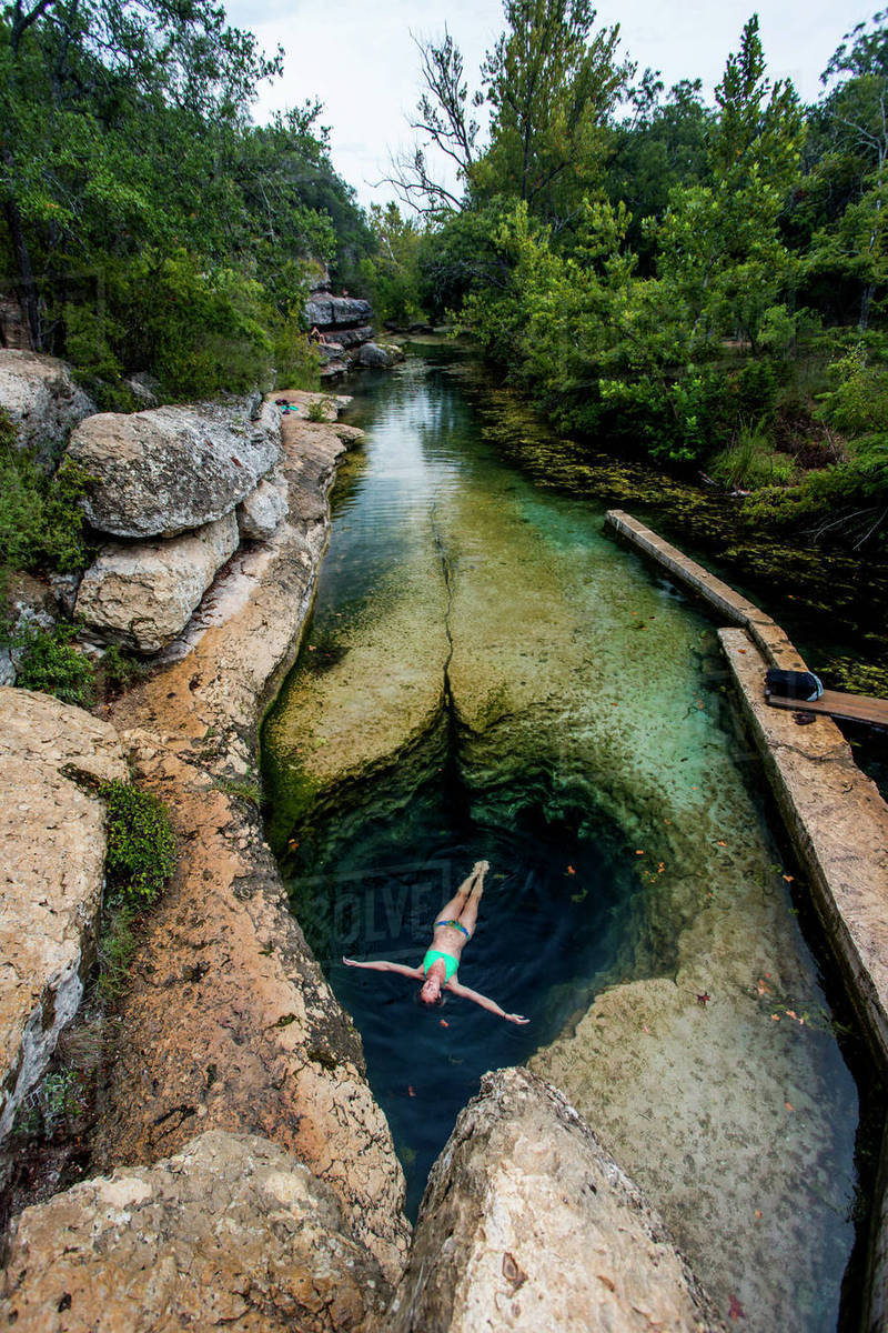 Jacob S Well Near Wimberley Texas Is A Unique Geological