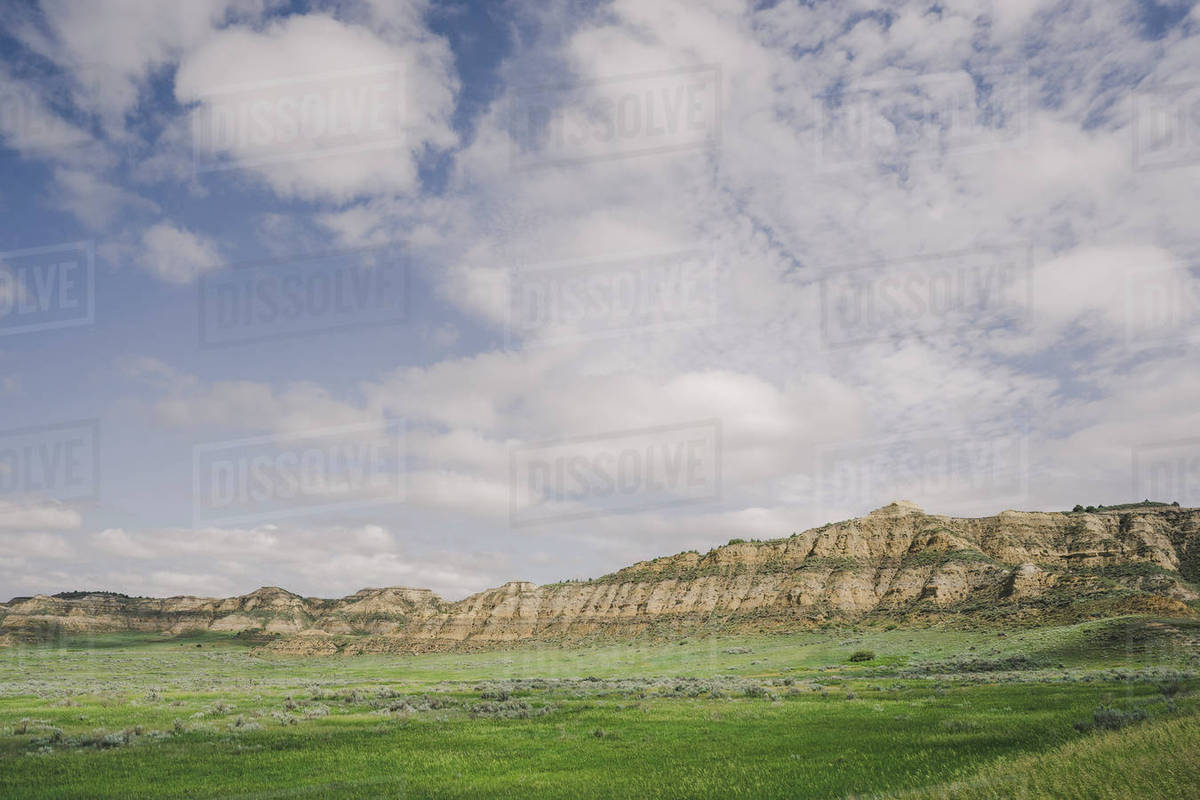 Little Missouri National Grassland North Dakota stock photo