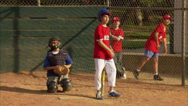 Little league baseball Rights-managed stock video