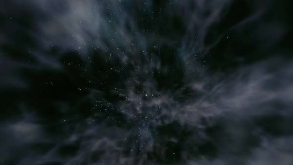 Animation of a galaxy explosion. Originally sourced from 70mm film Rights-managed stock video