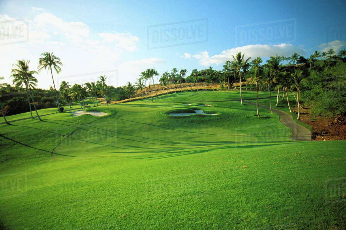 18th Green At Mauna Kea Beach Hotel Golf Course
