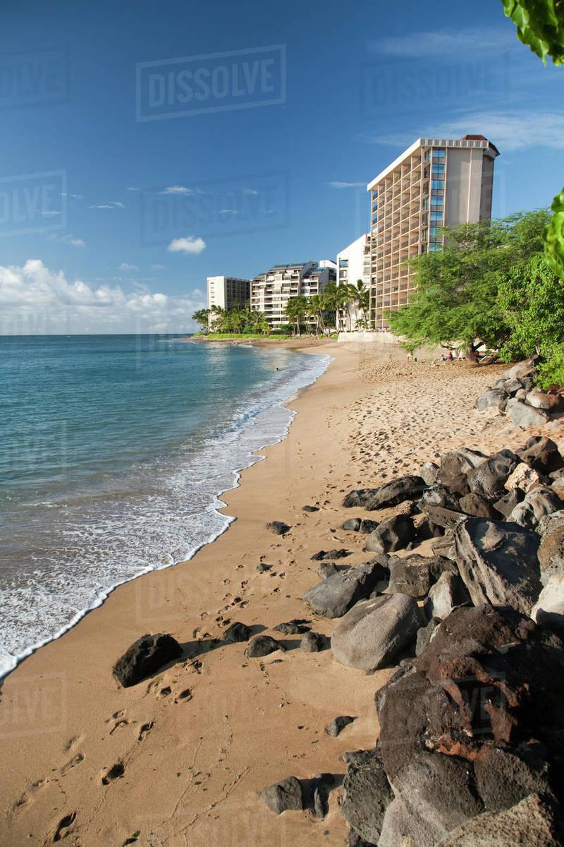 Hawaii Maui Kahana Beach Resorts And Condos On The Coast