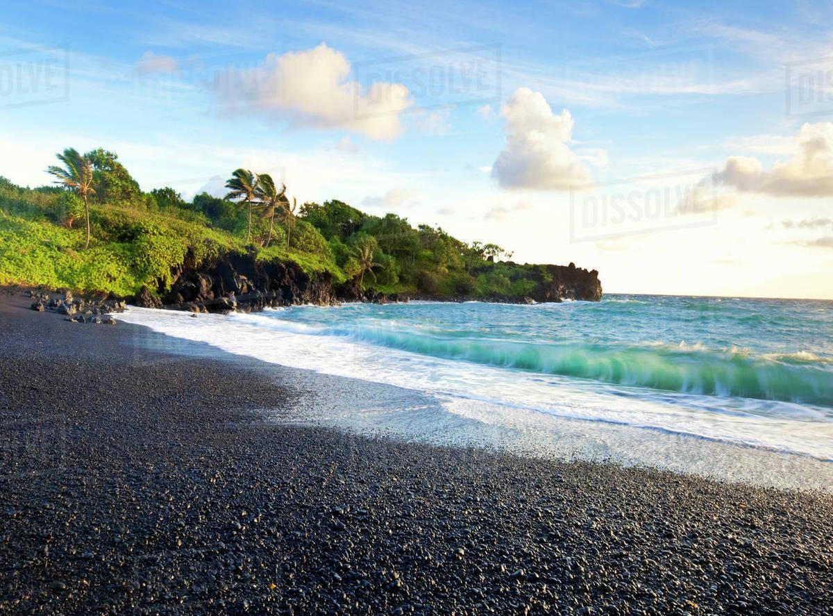 Hawaii Maui Hana Waianapanapa State