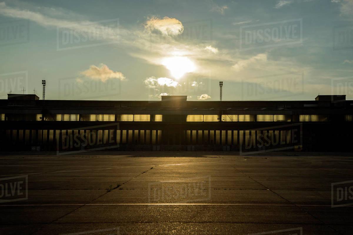 Tempelhof Airport Royalty-free stock photo