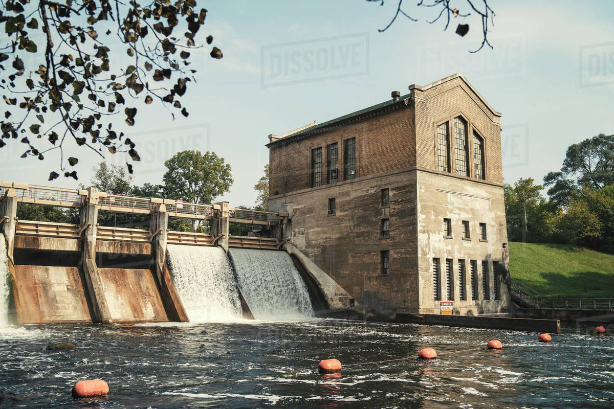 Hydroelectric Royalty-free stock photo