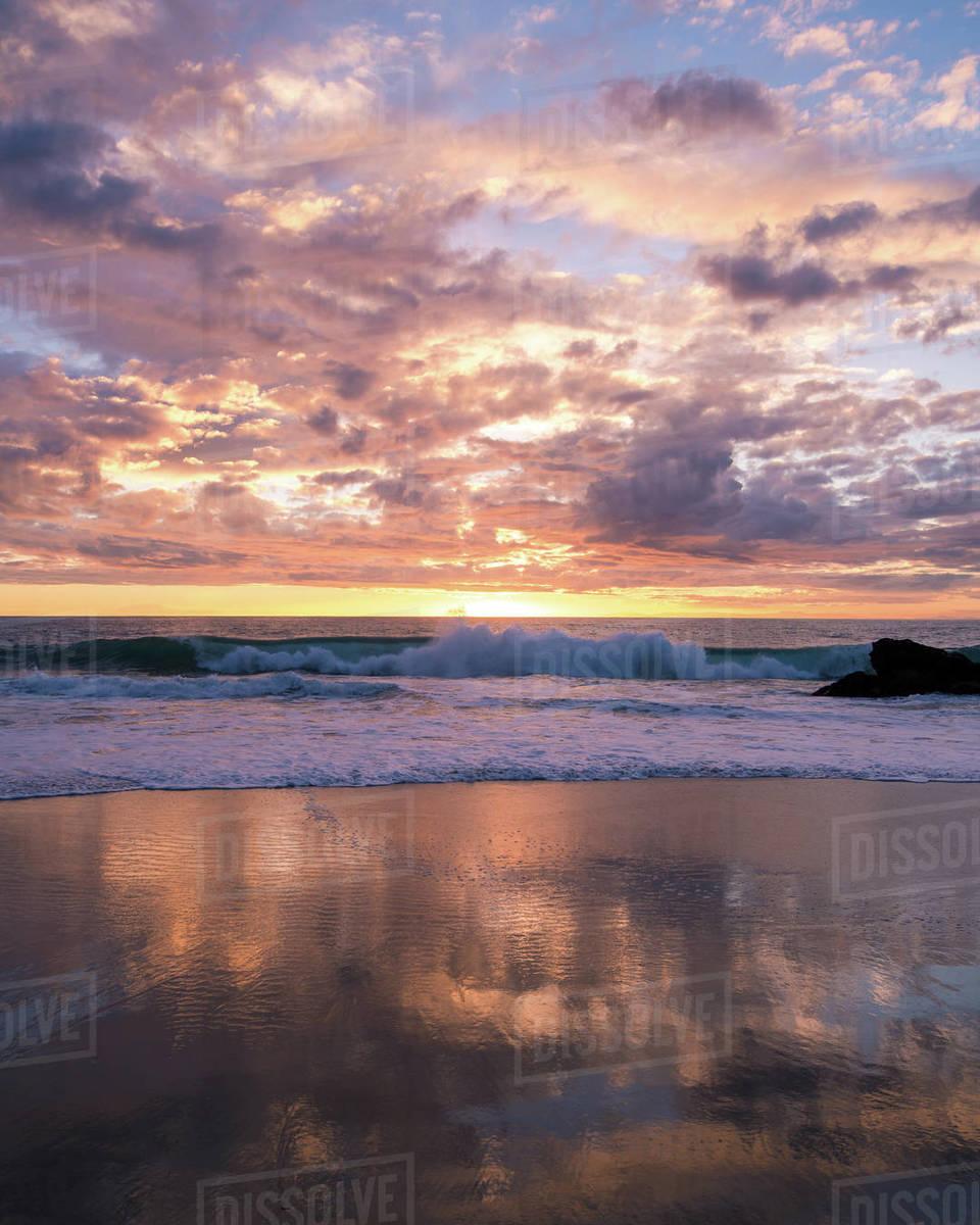 Wave Break Royalty-free stock photo