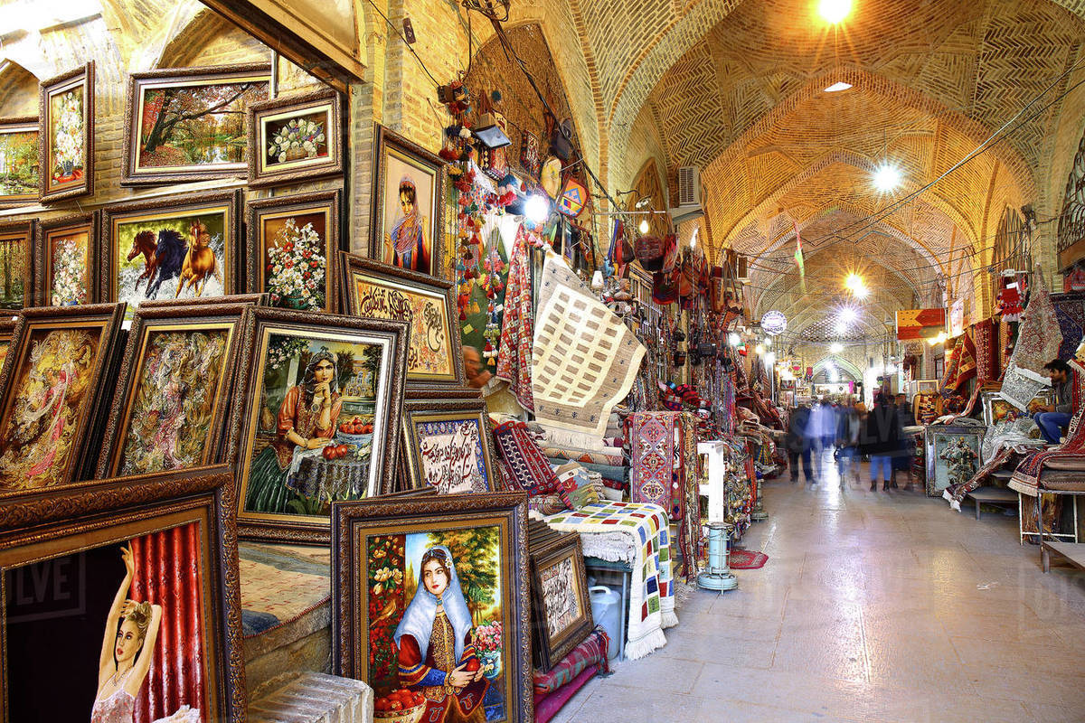 E-bazar Vakil bazar Vakil o, Shiraz, Ir√°n Royalty-free stock photo