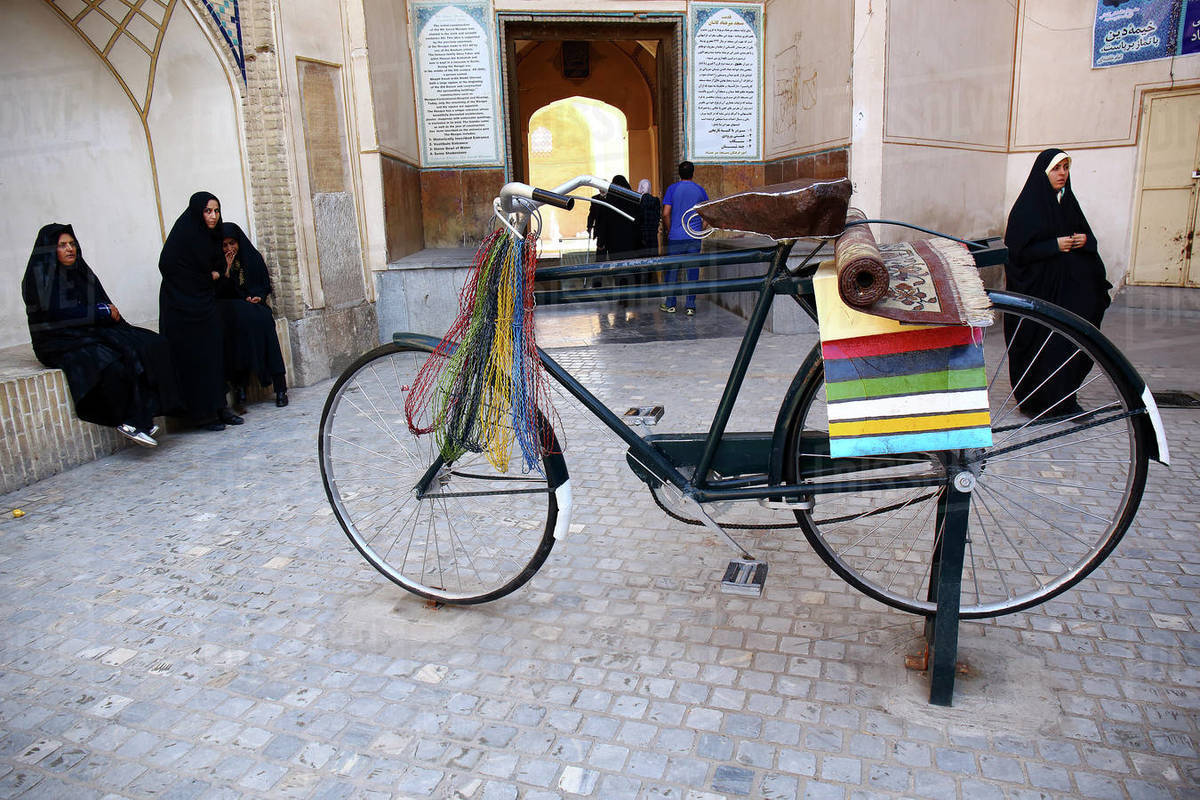 Ir√°n,ciudad,Kashan Kashan,Bazar Khan Amin al-Dowleh Timche dome Royalty-free stock photo