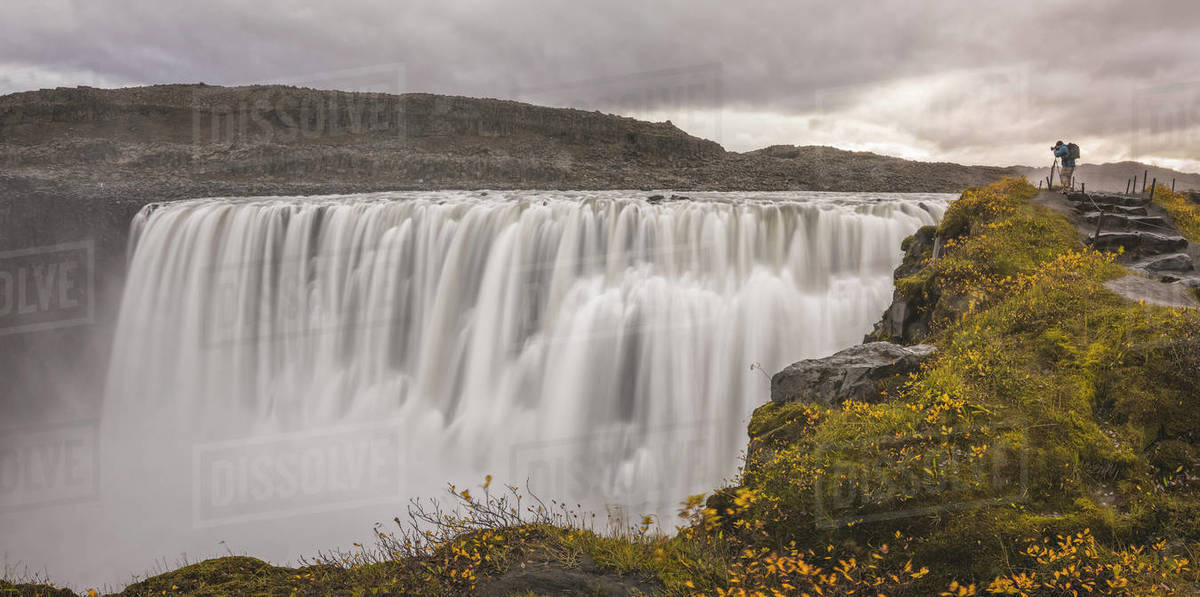 Dettifoss waterfall in Iceland. Royalty-free stock photo