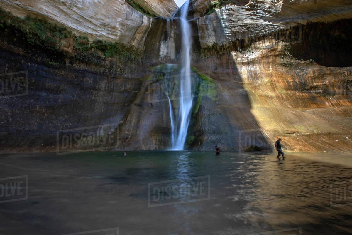 Lower Calf Creek Falls : Grand Staircase-Escalante