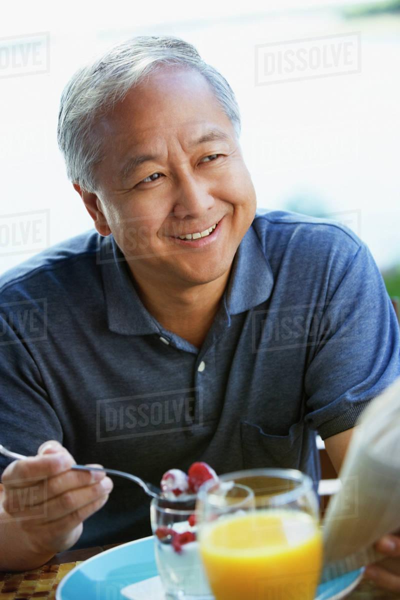 Apologise, Asian man eating