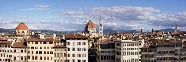 Florence Skyline with Cathedral in Background Royalty-free stock photo