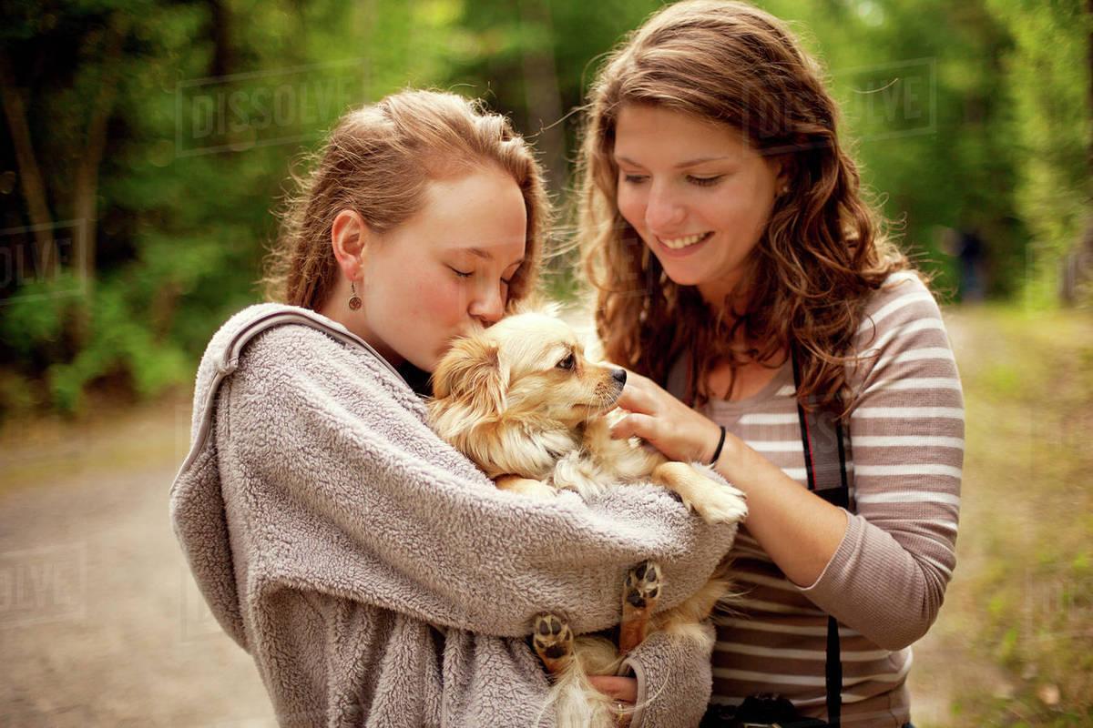 Petting Girls
