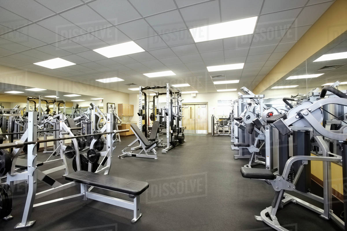Gym Equipment Photography