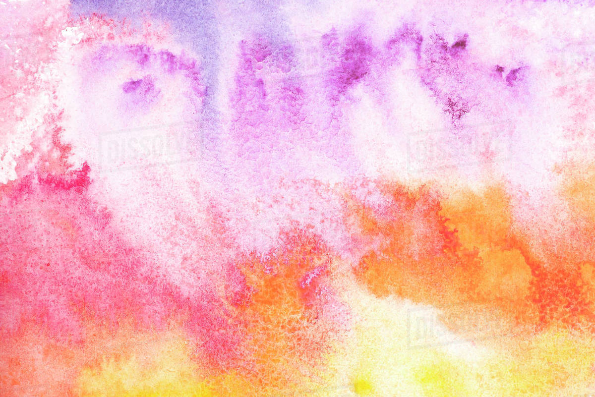 Abstract Painting With Colorful Watercolor Background D2115 244 655