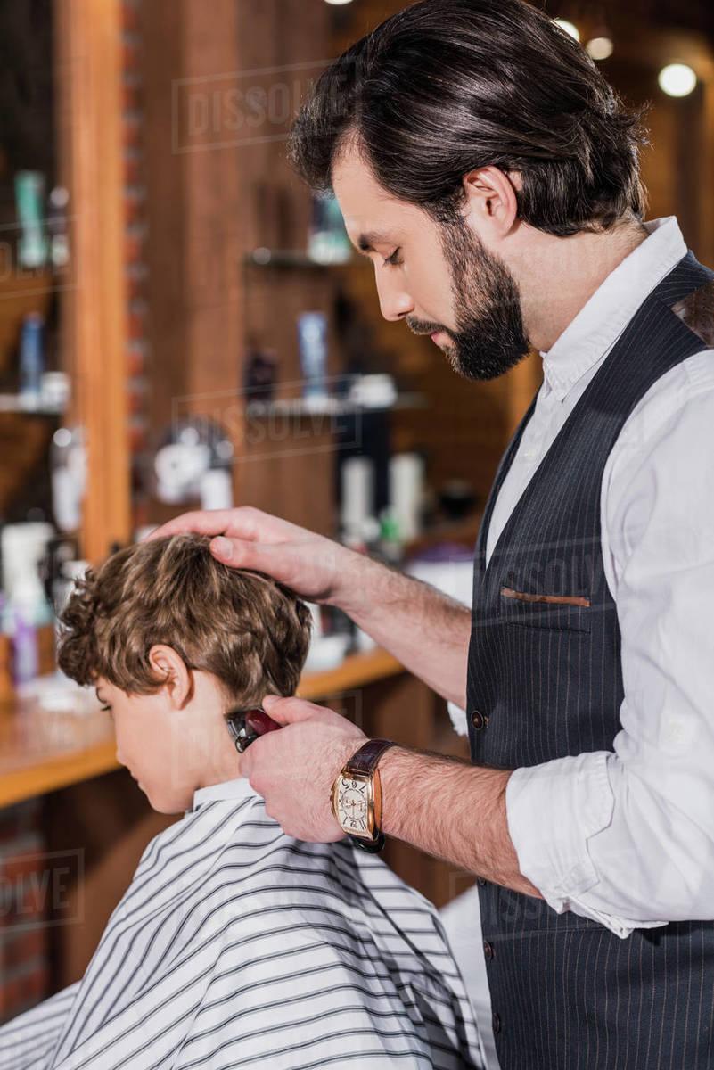 Getting A Haircut 59