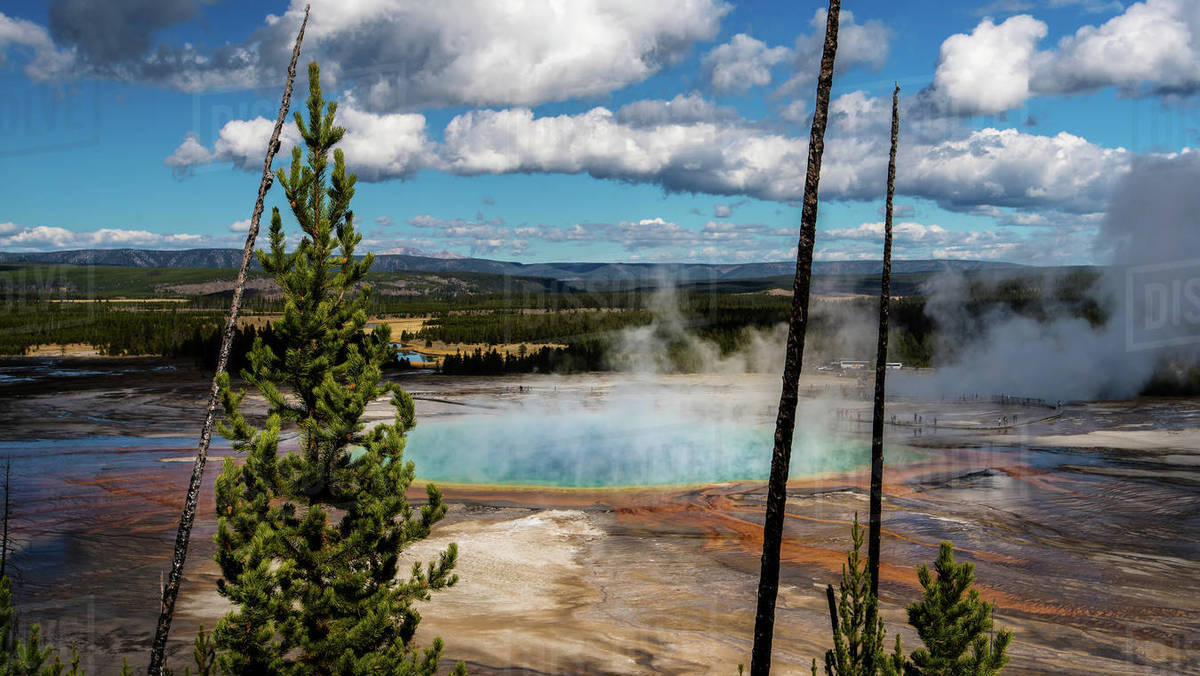 -Picture taken by me-at Grand Prismatic Spring in
