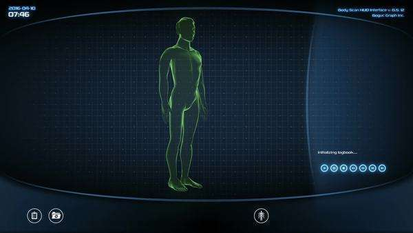 Futuristic heart scan. Holographic medical application interface Royalty-free stock video