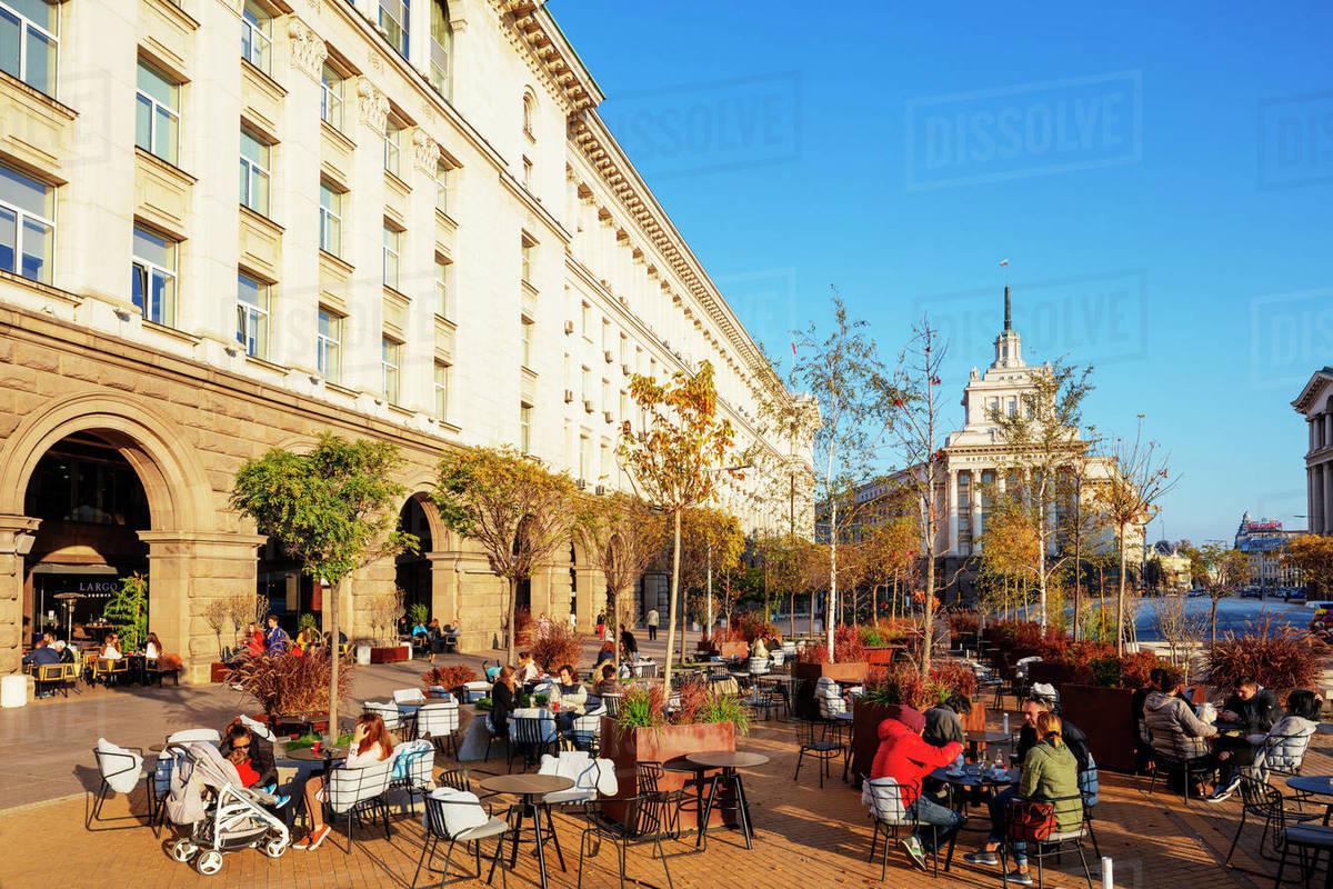 Palace of Justice, Sofia, Bulgaria, Europe Royalty-free stock photo