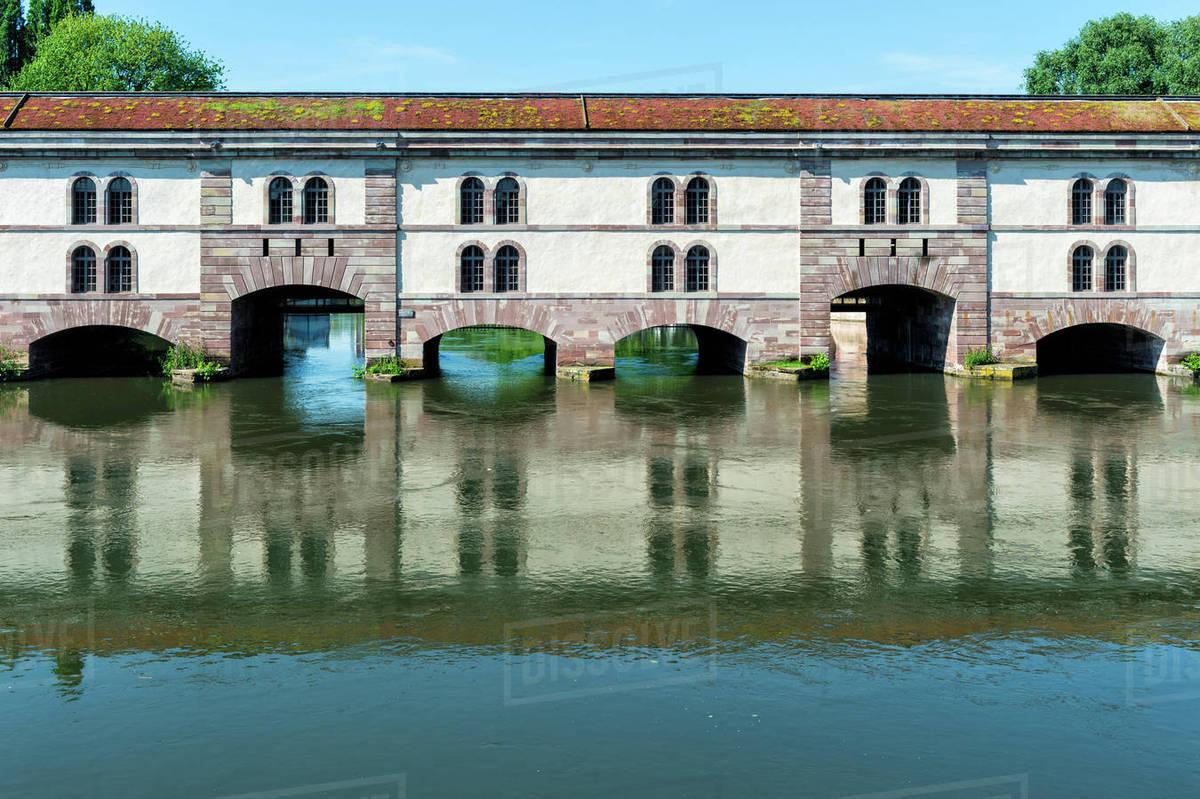 Architecte Bas Rhin barrage vauban, strasbourg, alsace, bas-rhin department, france, europe  d246_52_335