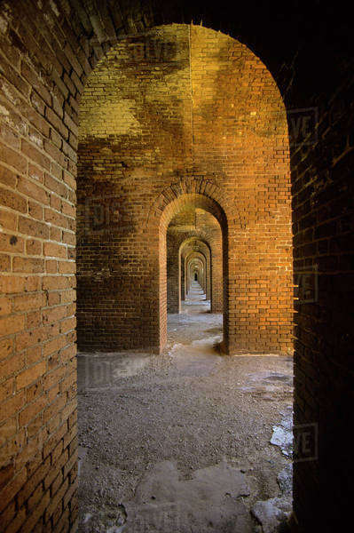 USA, Florida, Dry Tortugas National Park Royalty-free stock photo