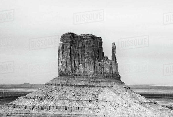 USA, Arizona. Formation in Monument Valley Navajo Tribal Park. Royalty-free stock photo