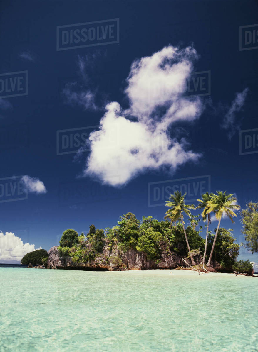 Palau Rock Islands View Of Honeymoon Island Stock Photo Dissolve