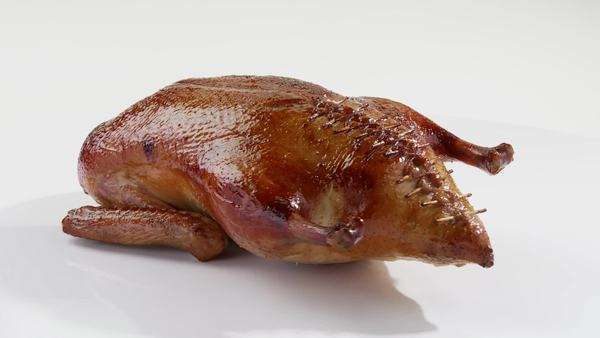 Roast duck Royalty-free stock video