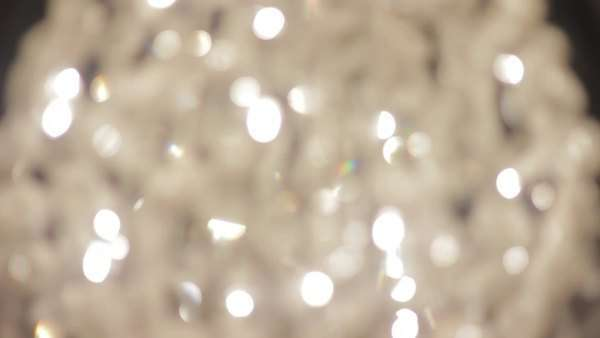 Close-up of chandelier Royalty-free stock video
