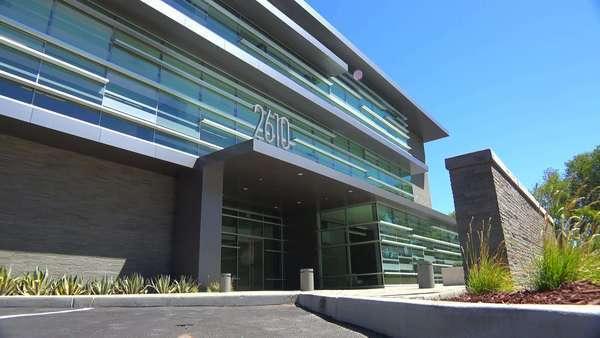 modern office exterior. establishing shot of the exterior a generic modern office building royaltyfree stock m